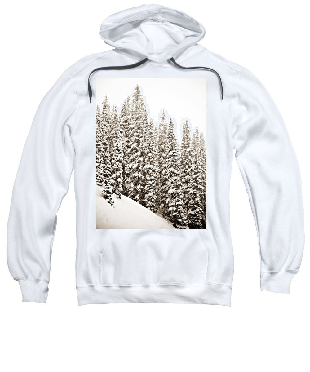Quiet Sweatshirt featuring the photograph Quiet by Marilyn Hunt