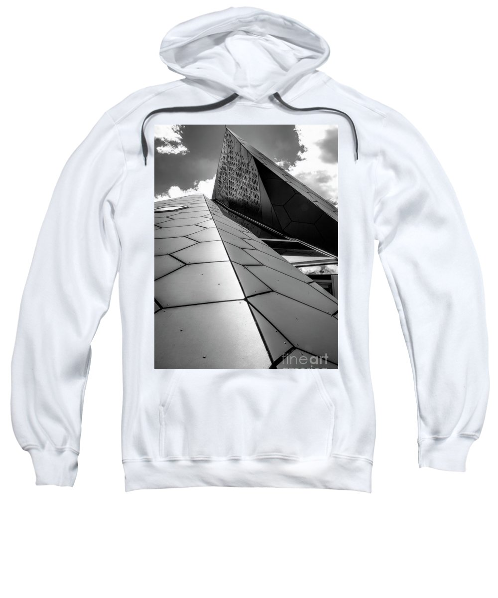 Reaching For The Sky Sweatshirt featuring the photograph Reaching For The Sky by Charles Abrams