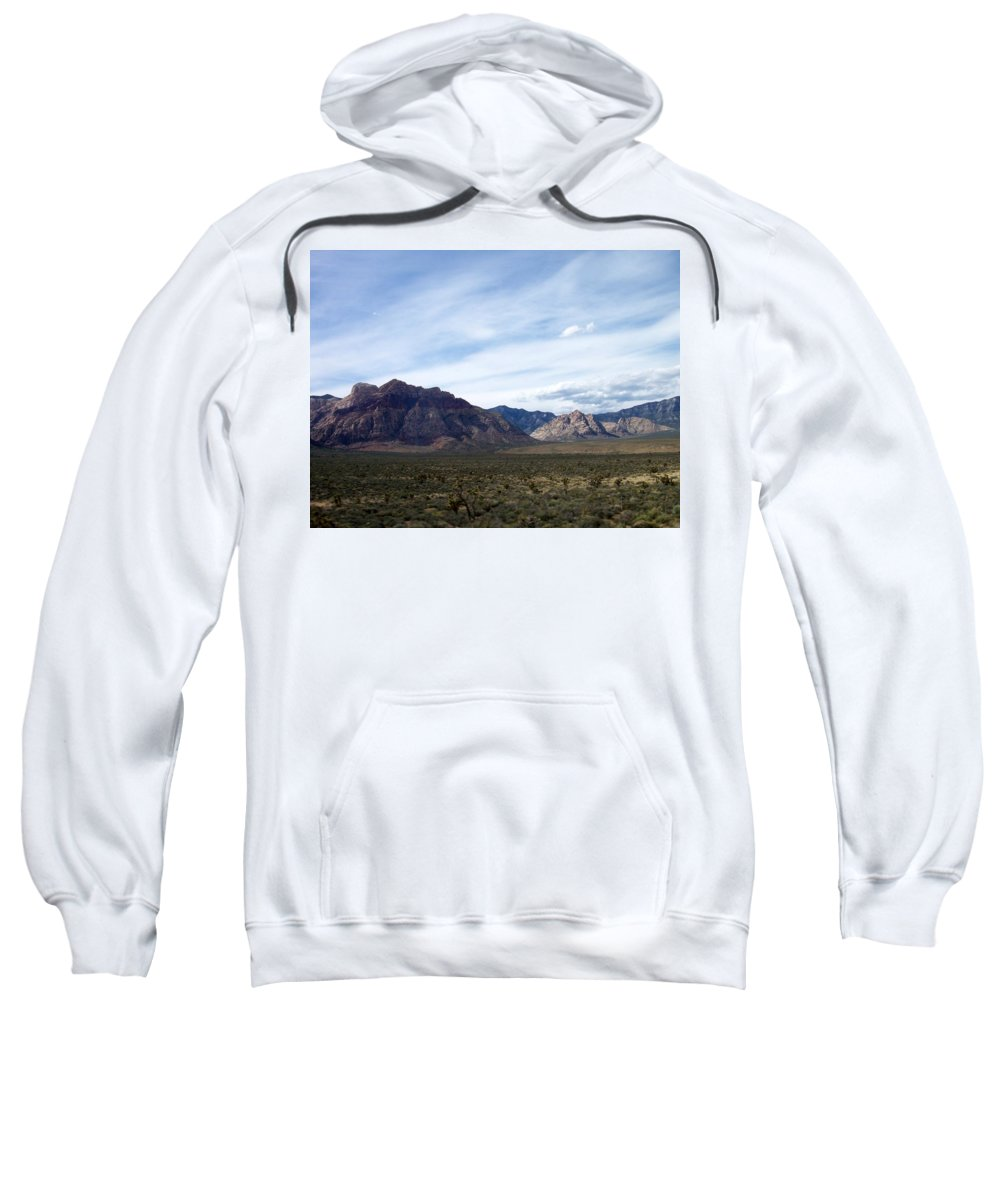 Red Rock Canyon Sweatshirt featuring the photograph Red Rock Canyon 4 by Anita Burgermeister