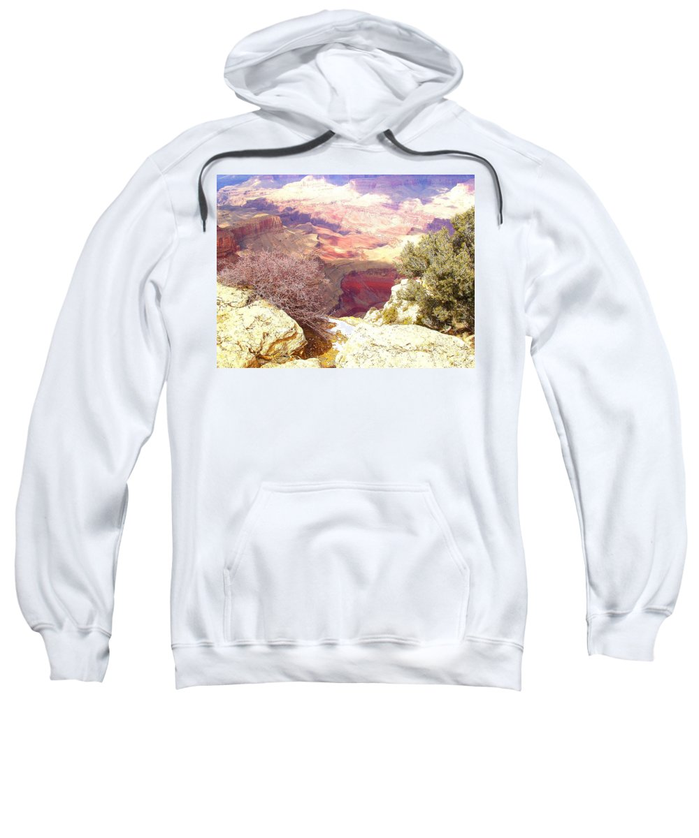 Red Rock Sweatshirt featuring the photograph Red Rock by Marna Edwards Flavell