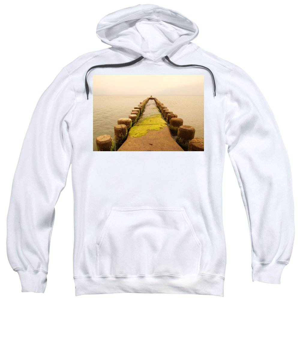 Dramatic Sweatshirt featuring the photograph Relaxation 1 by Heike Hultsch