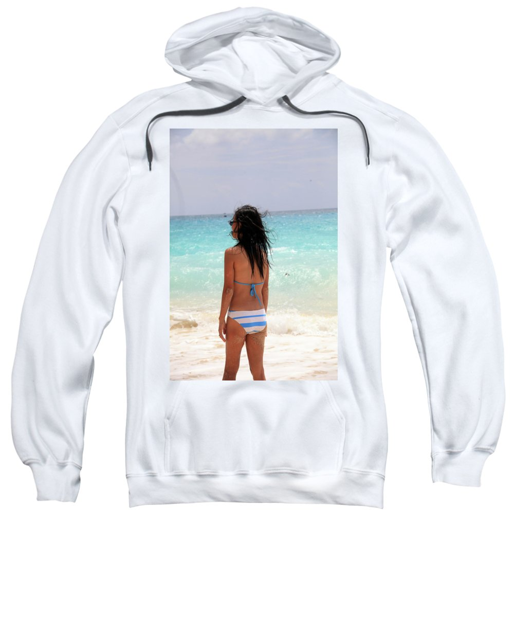 Mati Sweatshirt featuring the photograph Remember Me Mones by Jez C Self