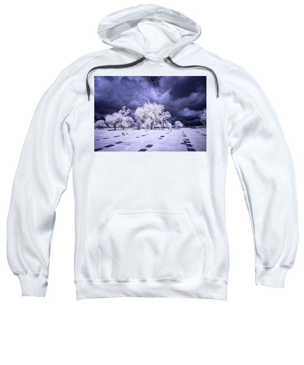 Arizona Sweatshirt featuring the photograph Remembering by Cathy Franklin