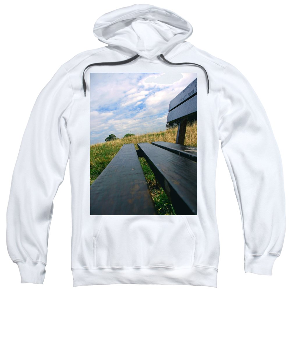 Sympathy Sweatshirt featuring the photograph Remembrance by Heather Lennox