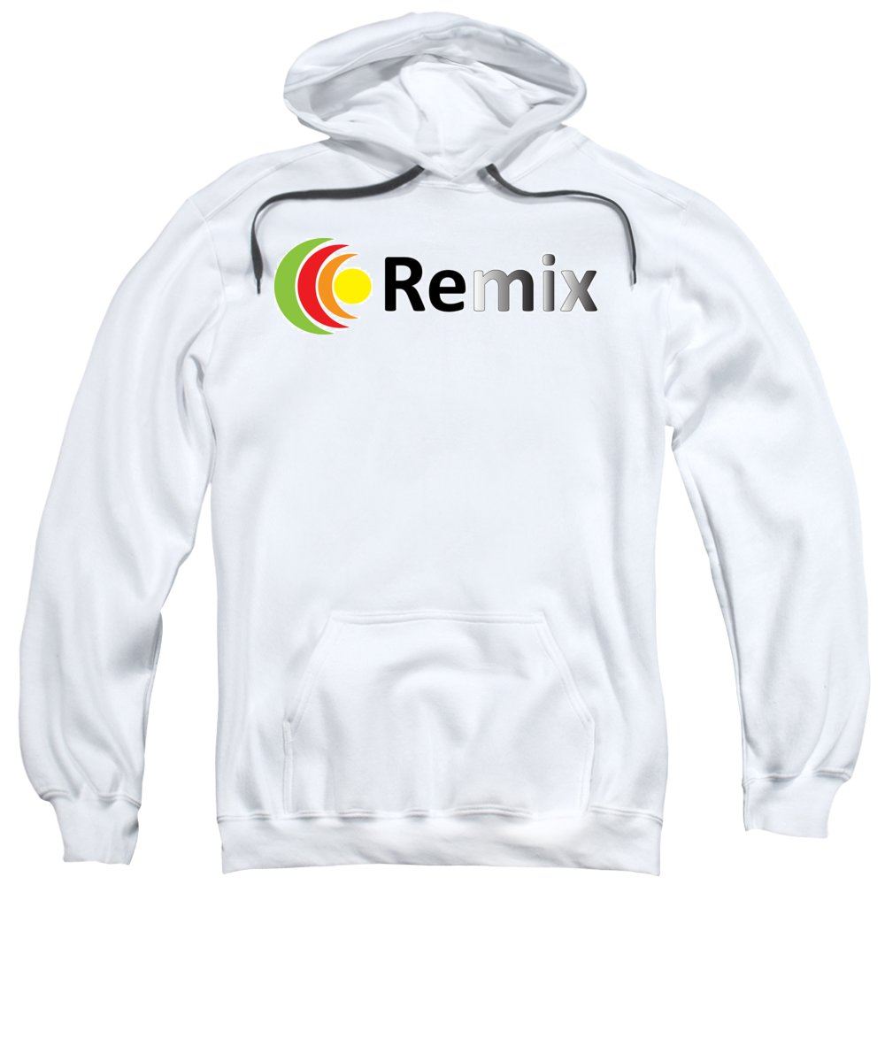 Logo Design Sample Sweatshirt featuring the photograph Remix Logo by Alex Art and Photo