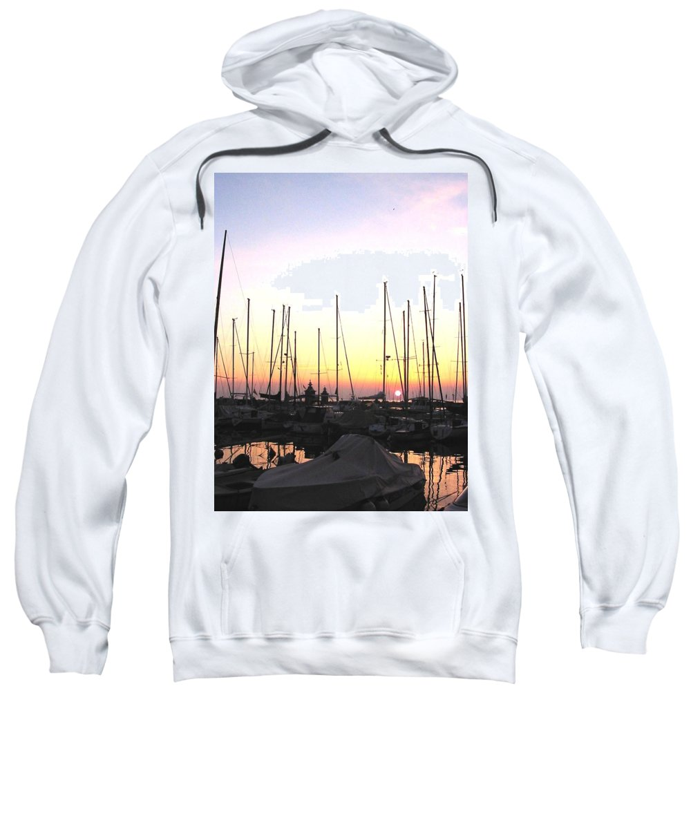 Sea Sweatshirt featuring the photograph Resting Place by Dragica Micki Fortuna