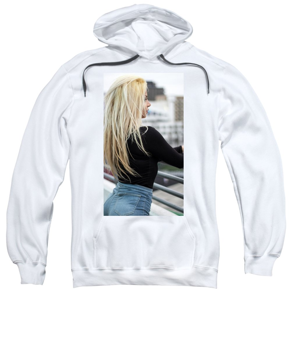 Model Sweatshirt featuring the photograph Revasse by Diana Dentelle