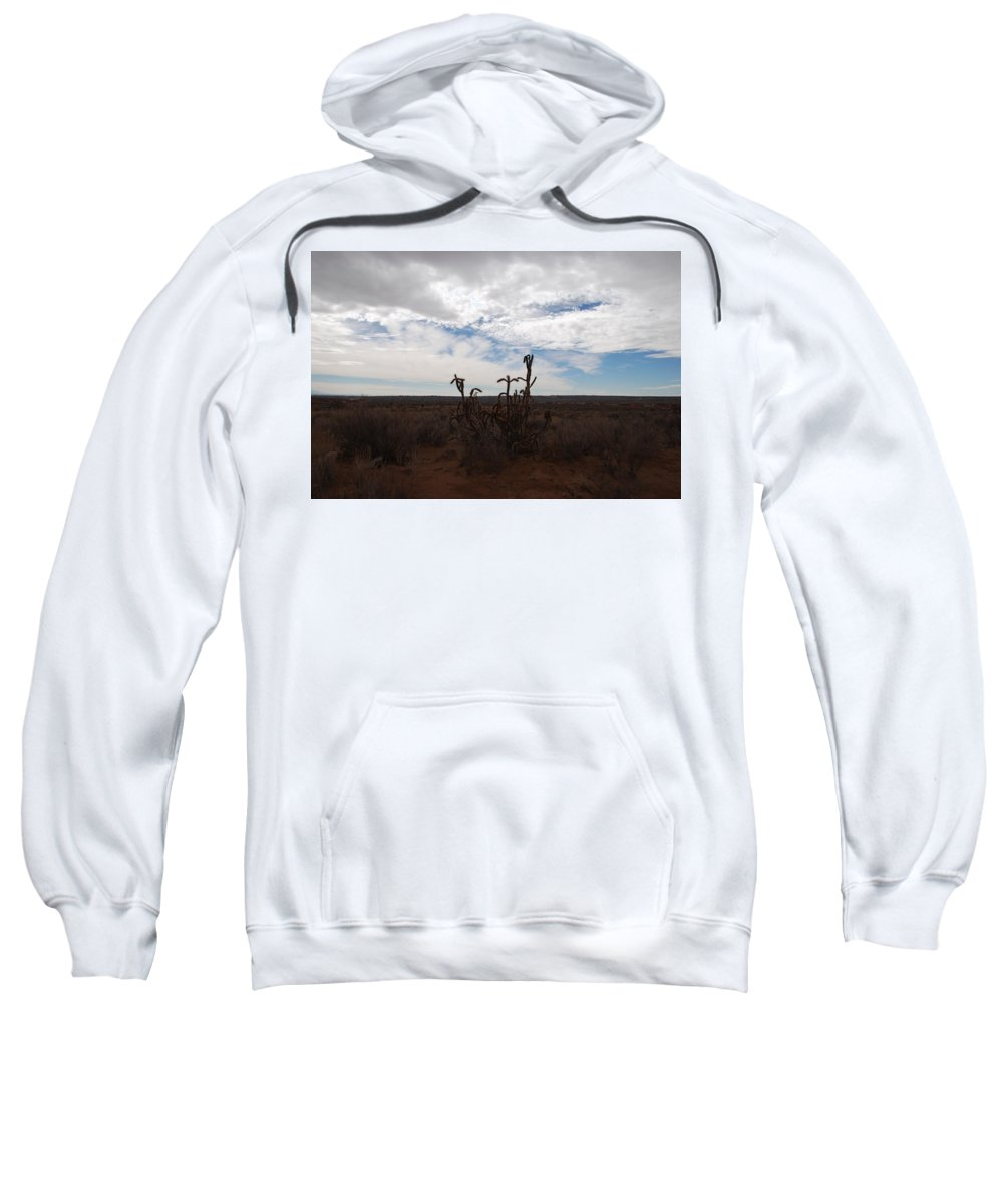 New Mexico Sweatshirt featuring the photograph Rio Rancho New Mexico by Rob Hans