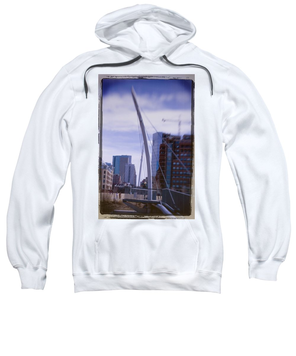 Denver Sweatshirt featuring the photograph River Front Park by Jeffery Ball