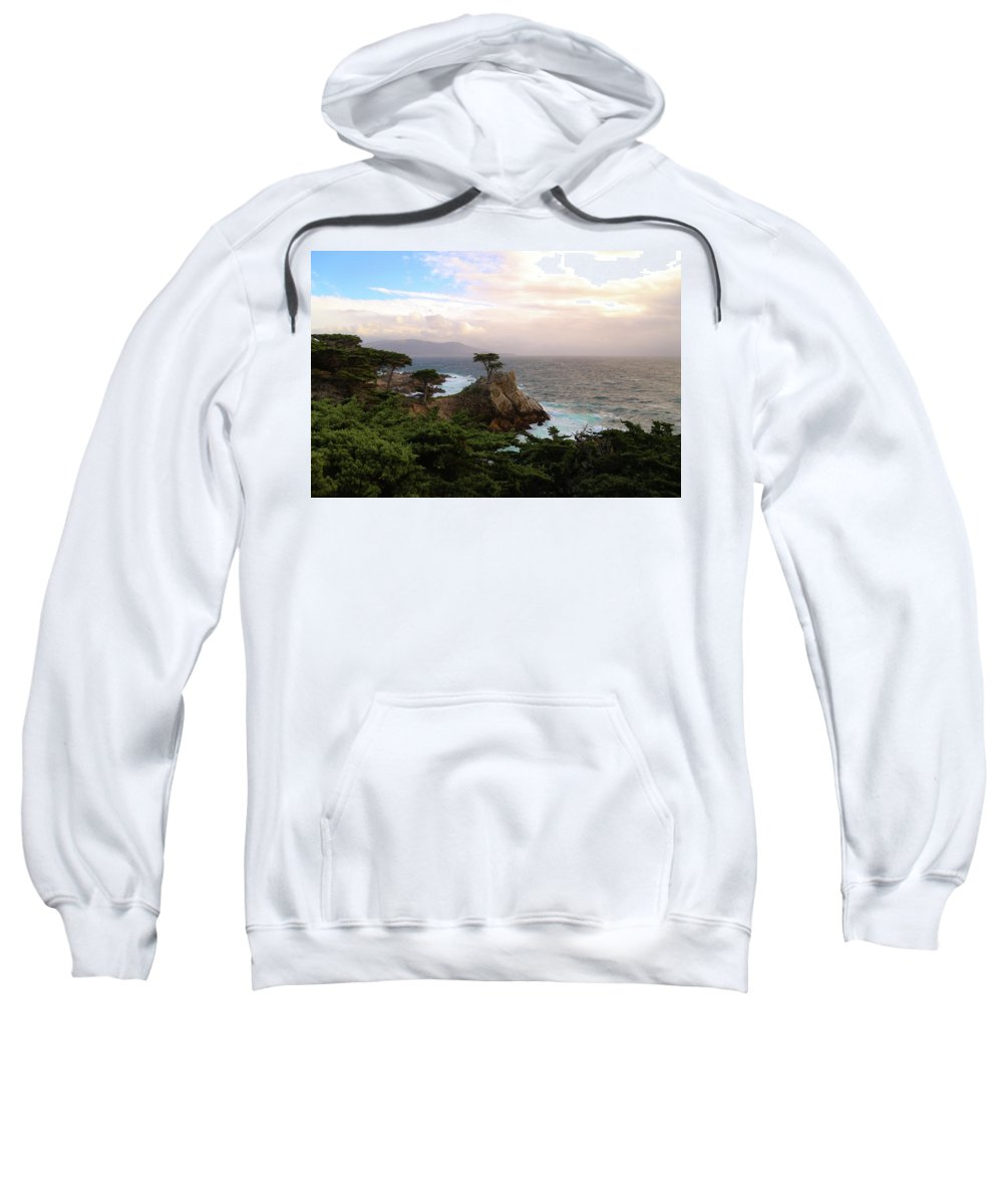 California Sweatshirt featuring the photograph Rock Tree by Lisa Scammell