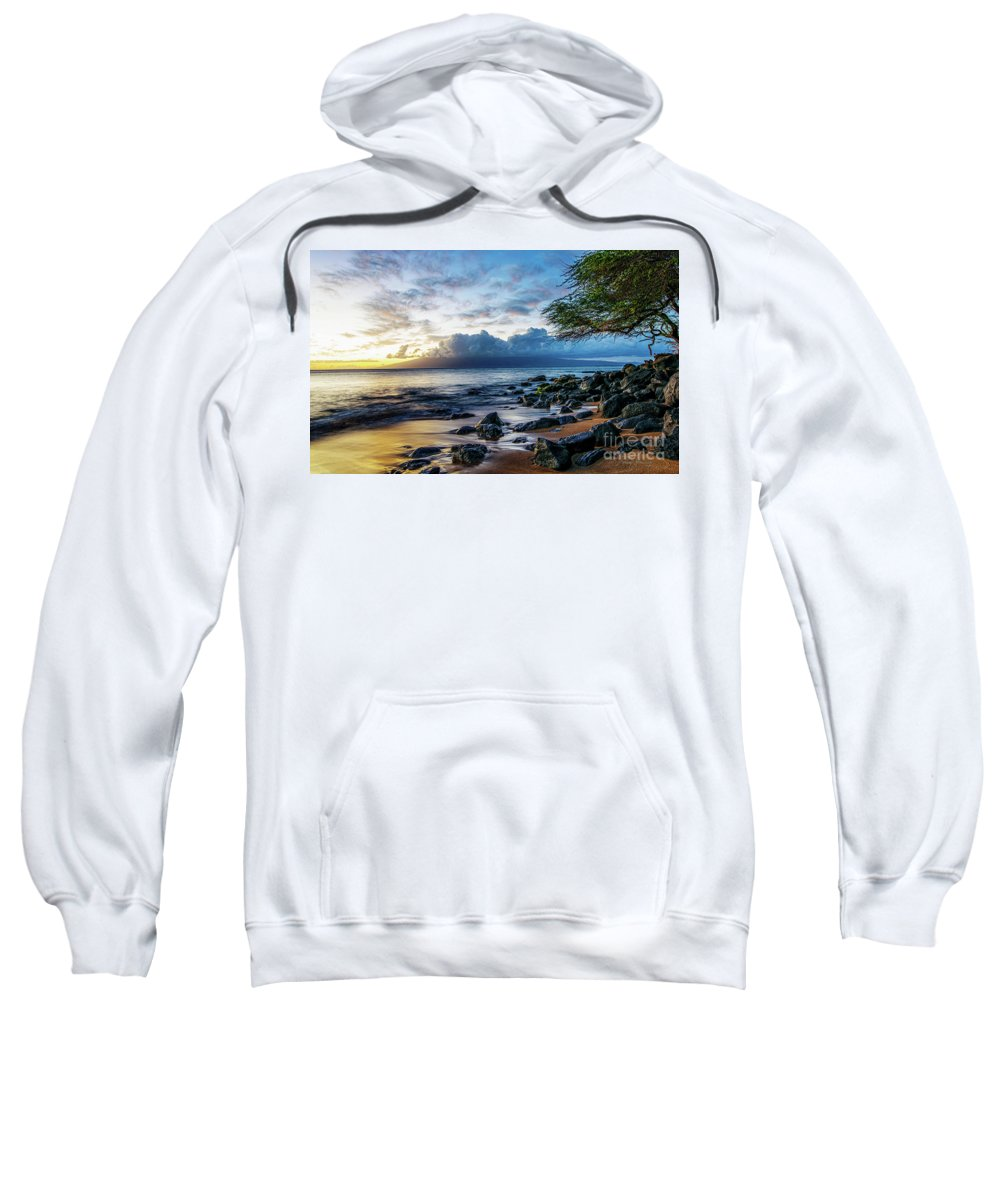 Beach Sweatshirt featuring the photograph Rockin Your World by Larry Young