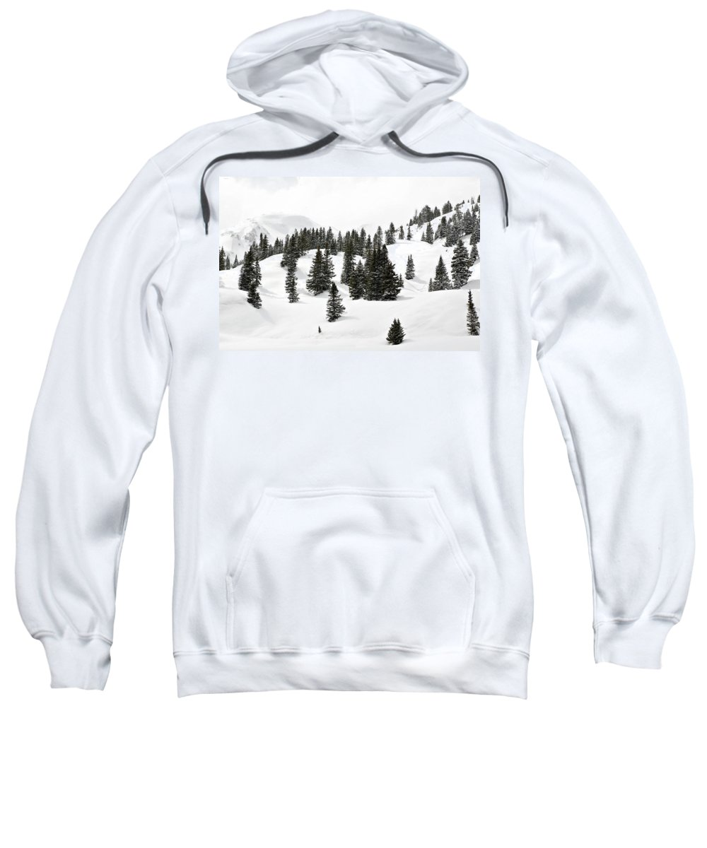 Rolling Hills Sweatshirt featuring the photograph Rolling Hills by Marilyn Hunt