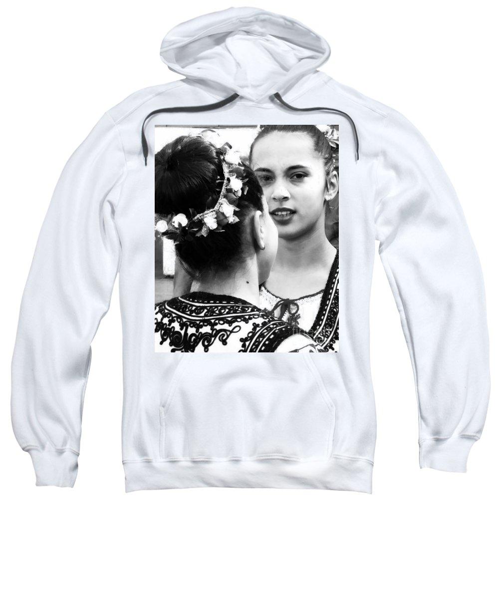 Group Sweatshirt featuring the photograph Romanian Beauty - 1 by Mioara Andritoiu