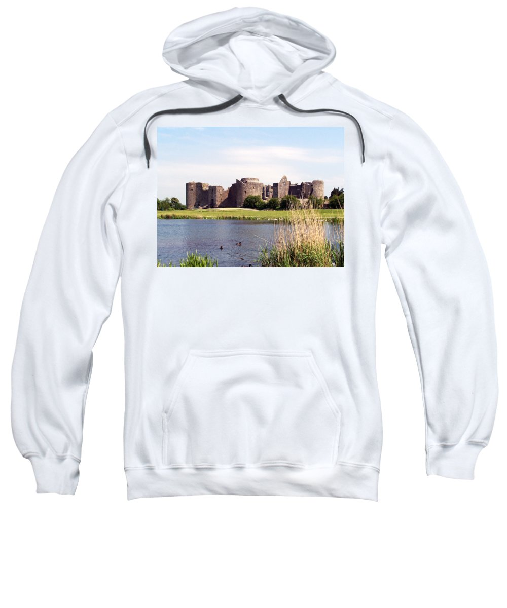 Roscommon Sweatshirt featuring the photograph Roscommon Castle Ireland by Teresa Mucha