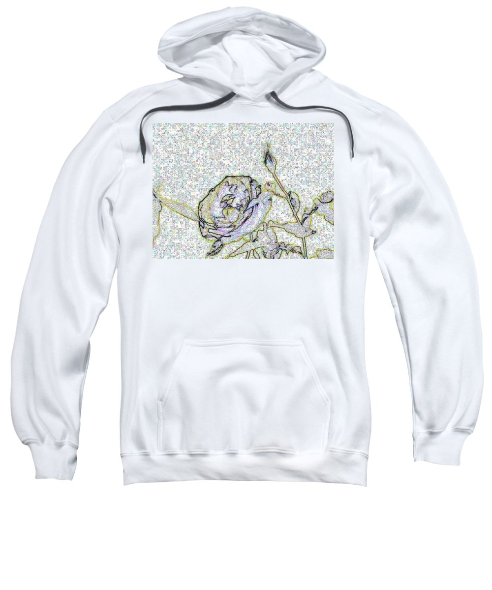 Rose Sweatshirt featuring the photograph Rose For U by Tim Allen
