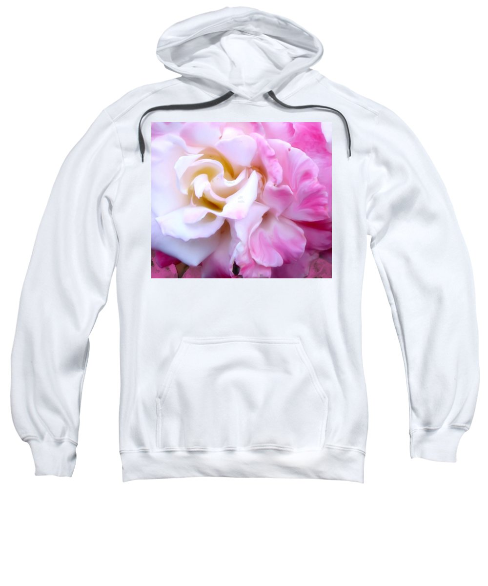 Flowers Sweatshirt featuring the photograph Rose by Karen W Meyer