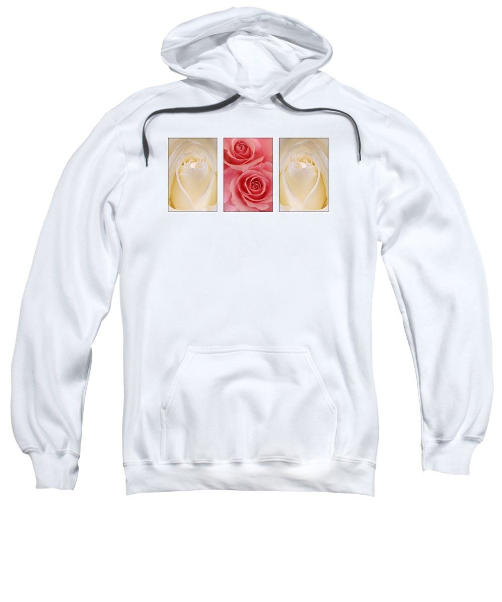 Rose Sweatshirt featuring the photograph Rose Series by Jill Reger