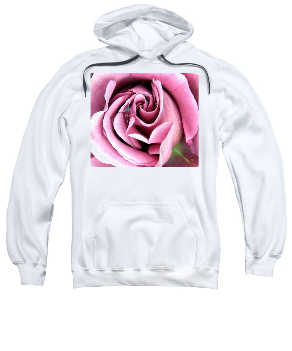 Romantic Sweatshirt featuring the photograph Roses Roses by Will Borden