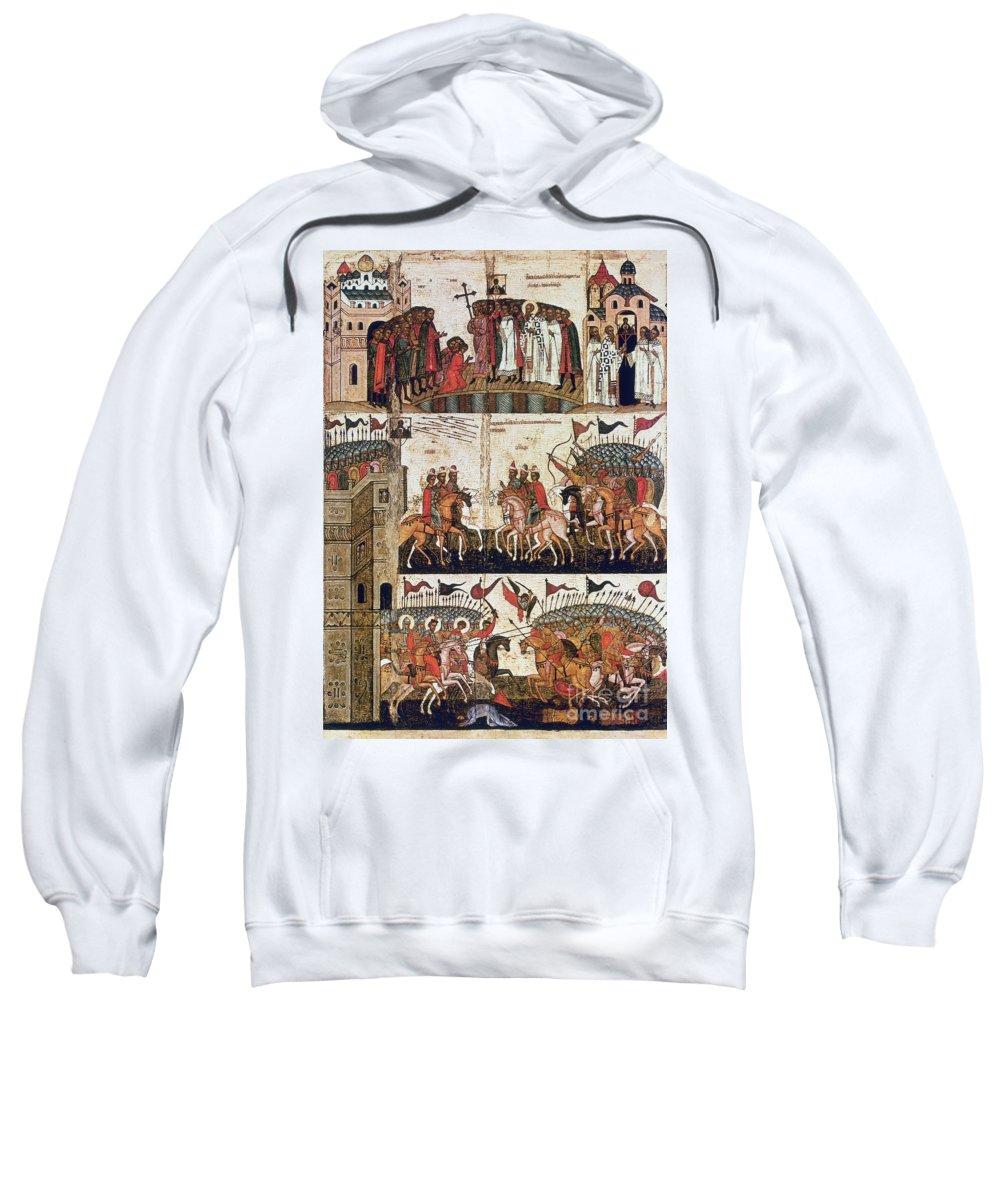 1169 Sweatshirt featuring the photograph Russia: Novgorod by Granger