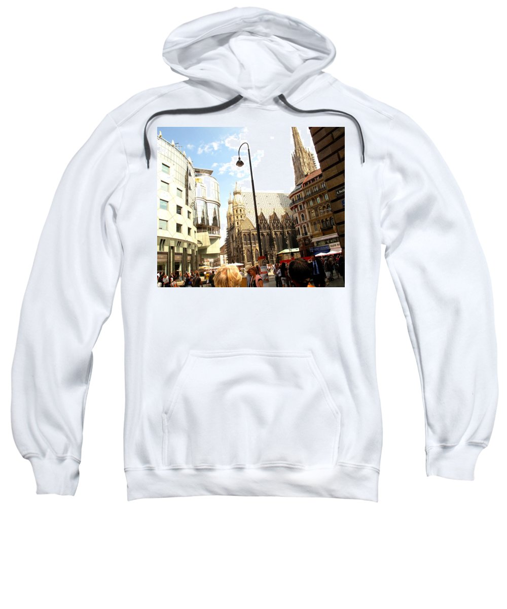 St Sweatshirt featuring the photograph Saint Stephen by Ian MacDonald