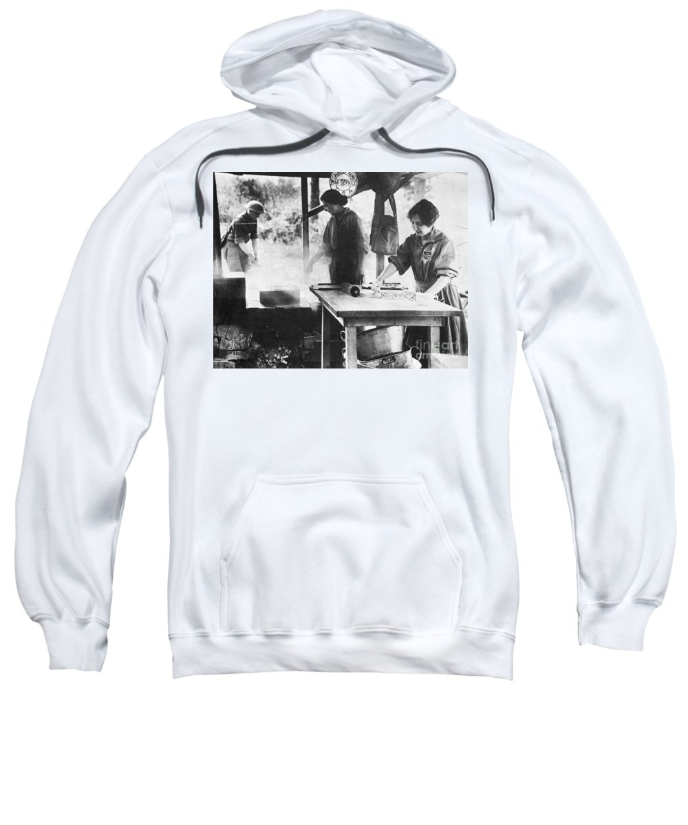 1918 Sweatshirt featuring the photograph Salvation Army, 1918 by Granger
