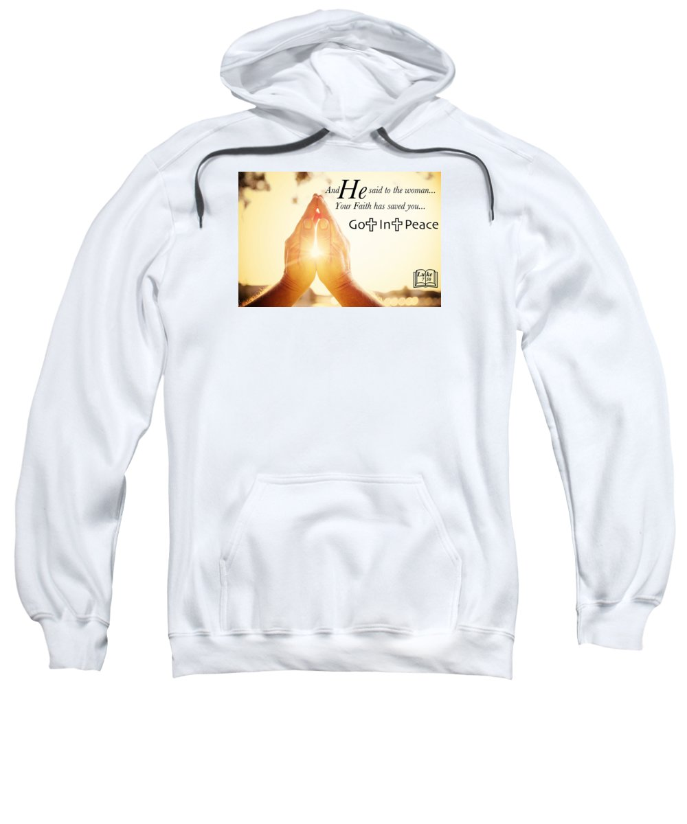 Sweatshirt featuring the photograph Salvation6 by David Norman
