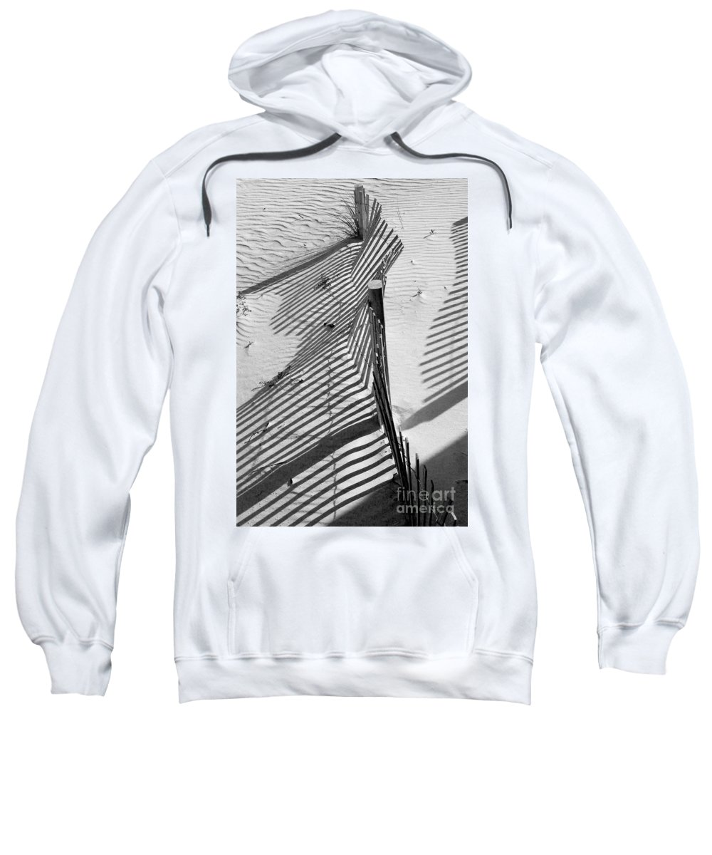 Beach Sweatshirt featuring the photograph Sand And Sun by Robert Meanor