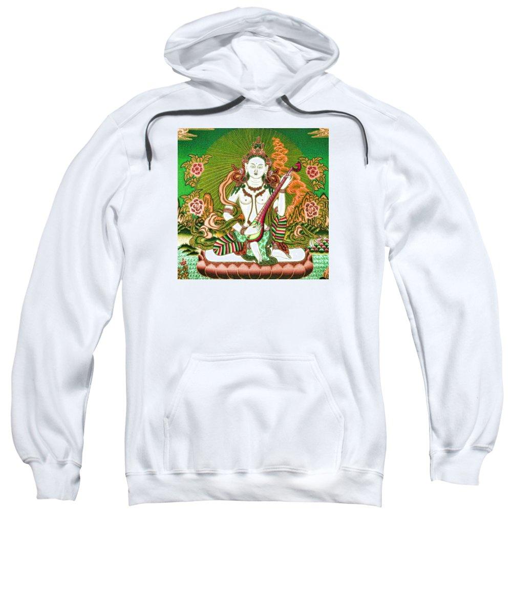 Saraswati Sweatshirt featuring the photograph Saraswati 11 by Jeelan Clark
