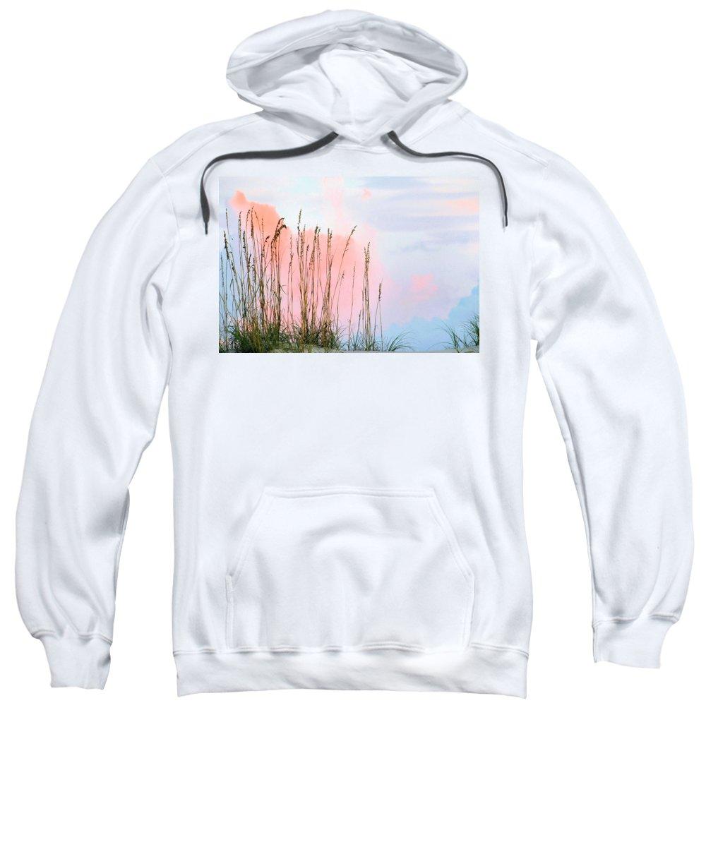 Sea Oats Sweatshirt featuring the photograph Sea Oats by Kristin Elmquist