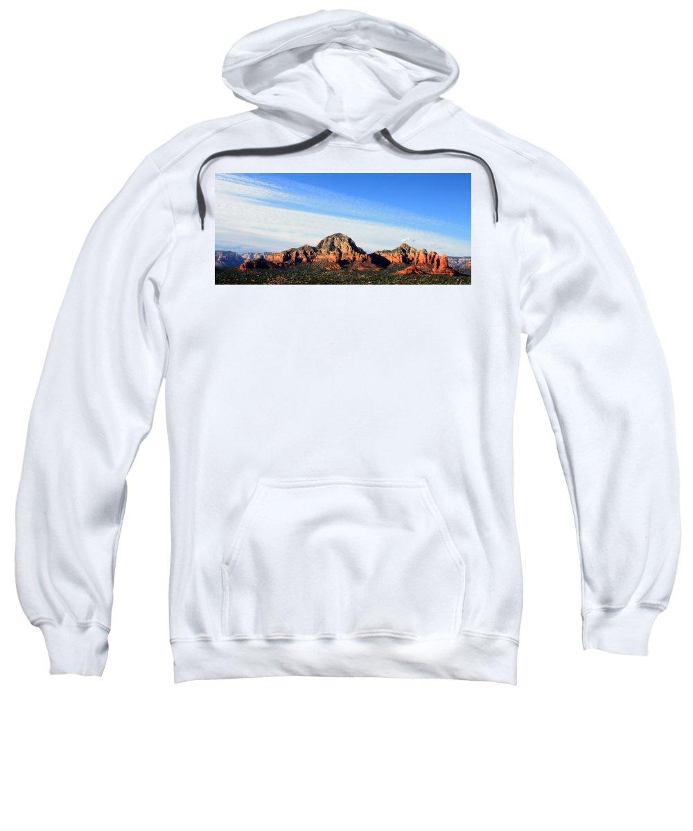 Sedona Sweatshirt featuring the photograph Sedona Afternoon by Joe Kozlowski