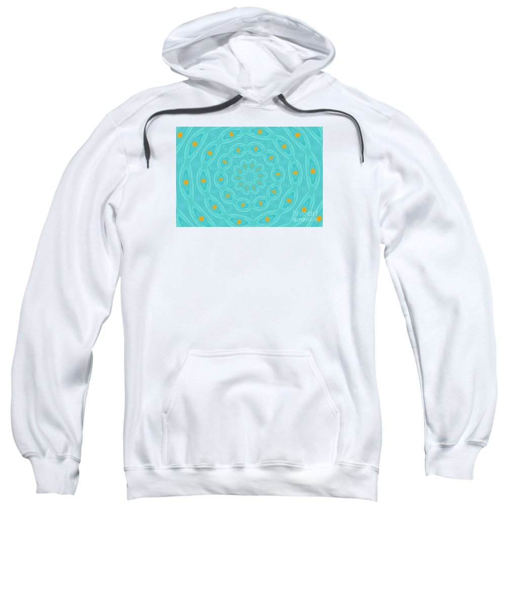 Abstract Sweatshirt featuring the painting See Spot by James and Donna Daugherty