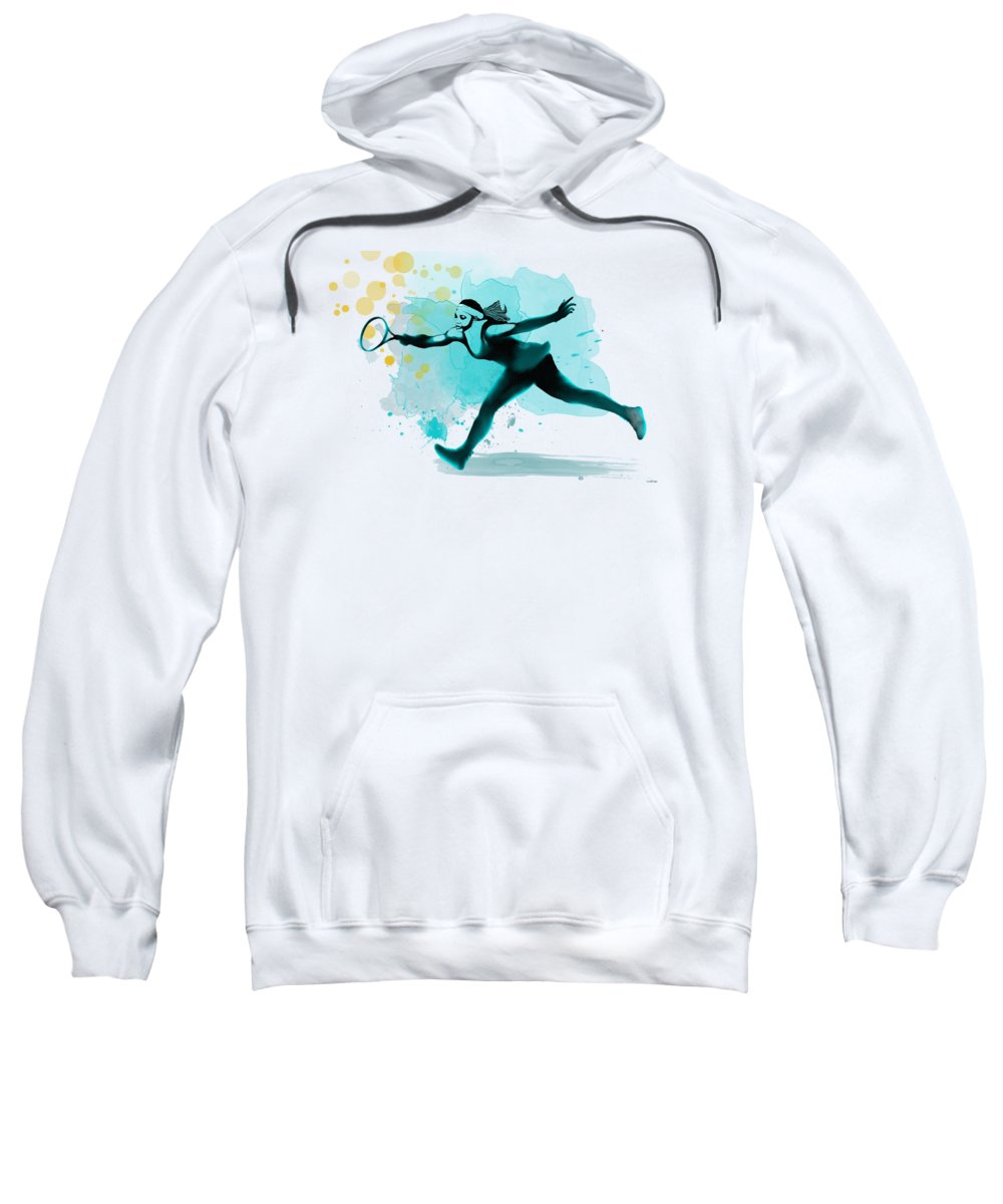 Serena Williams Hooded Sweatshirts T-Shirts