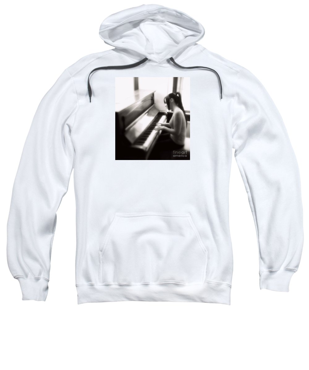 Model Sweatshirt featuring the photograph Serenade by Frances Lewis
