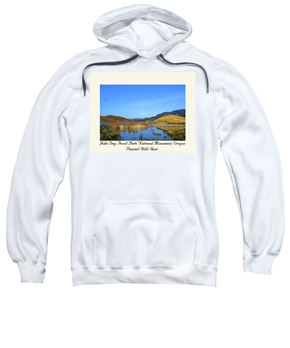 Oregon Sweatshirt featuring the photograph Serenity II by Steve Warnstaff