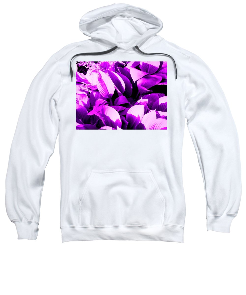 Leaves Sweatshirt featuring the photograph Shades by Ian MacDonald