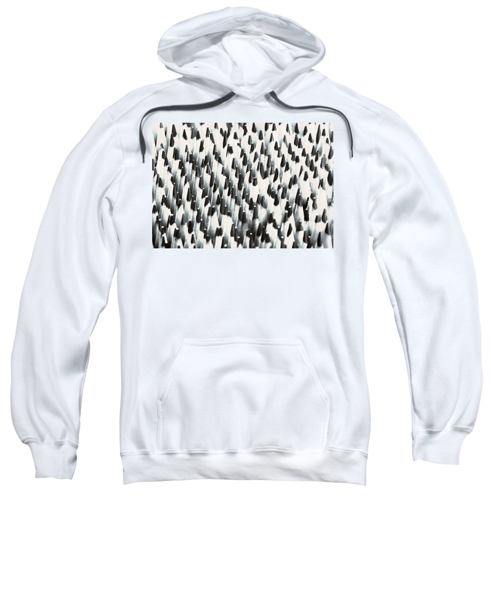 Wooden Pencils Sweatshirt featuring the photograph Sharp Wooden Pencils by Evgeniy Lankin
