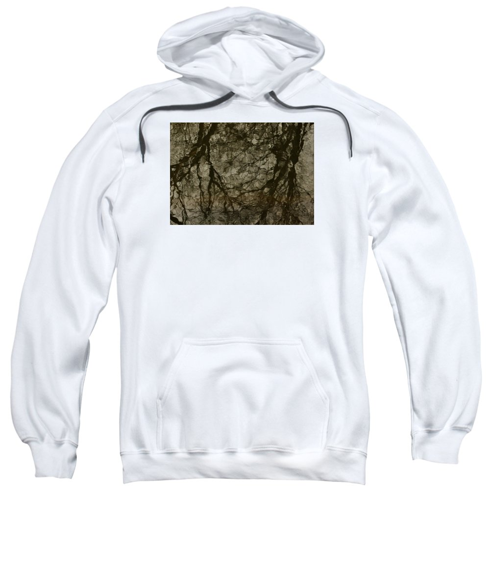 Trees Sweatshirt featuring the photograph Shattered Forest by Marty Jordan
