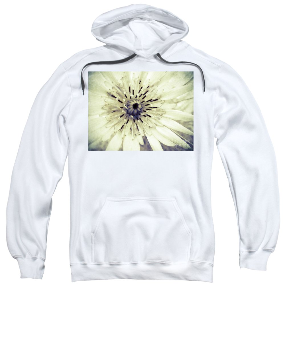 Flower Sweatshirt featuring the photograph She Wants To Be Beautiful by Tara Turner