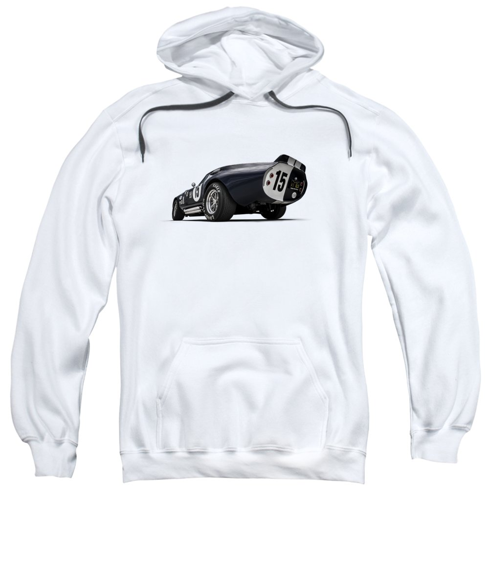 Shelby Sweatshirt featuring the digital art Shelby Daytona by Douglas Pittman