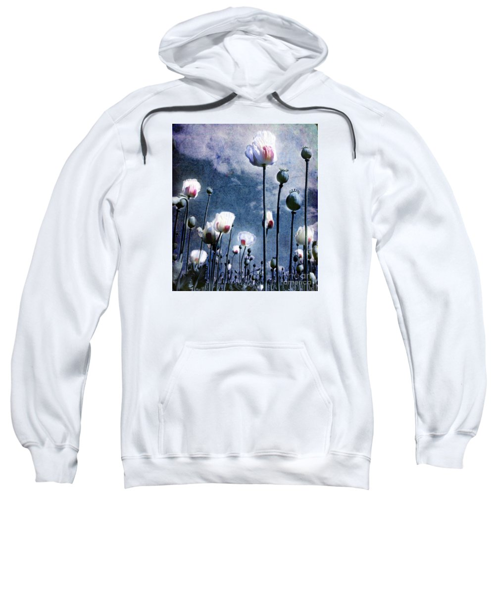 Flowers Sweatshirt featuring the photograph Shine Through by Jacky Gerritsen