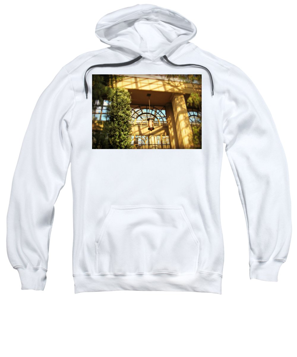 Sunlight Sweatshirt featuring the photograph Sideways Shadows by Cara Imperato