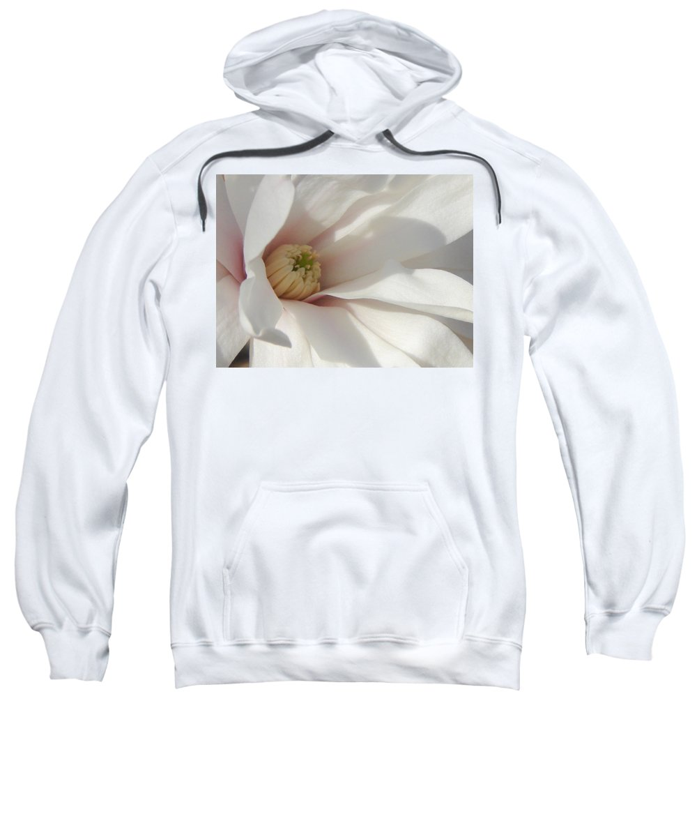 Sweatshirt featuring the photograph Simply White by Luciana Seymour