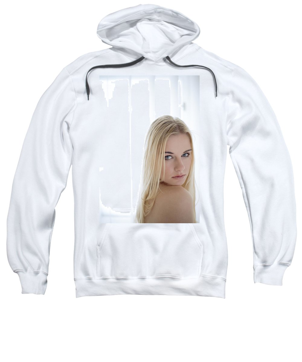 Sensual Sweatshirt featuring the photograph Sincere by Olivier De Rycke