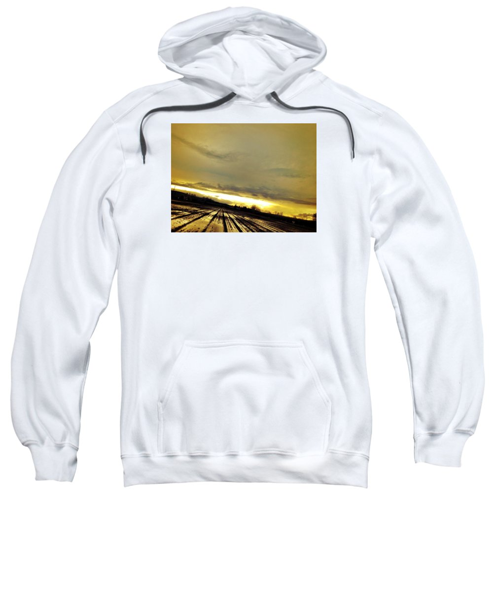 Sun Sweatshirt featuring the photograph Siren by Chris Dunn