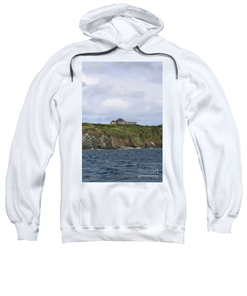 Canon Sweatshirt featuring the photograph Sitting On Top by John W Smith III
