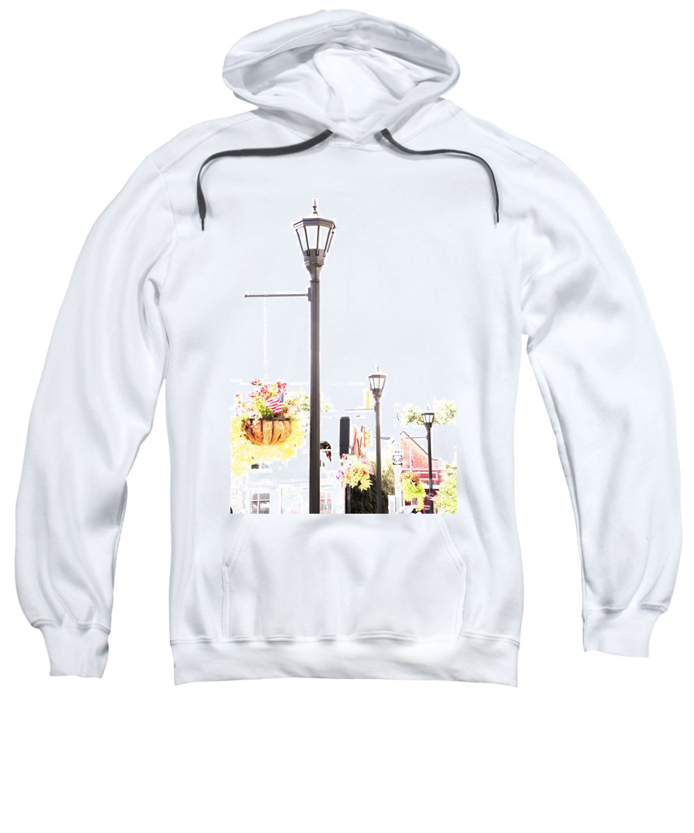 Small Town Sweatshirt featuring the photograph Small Town by Amanda Barcon