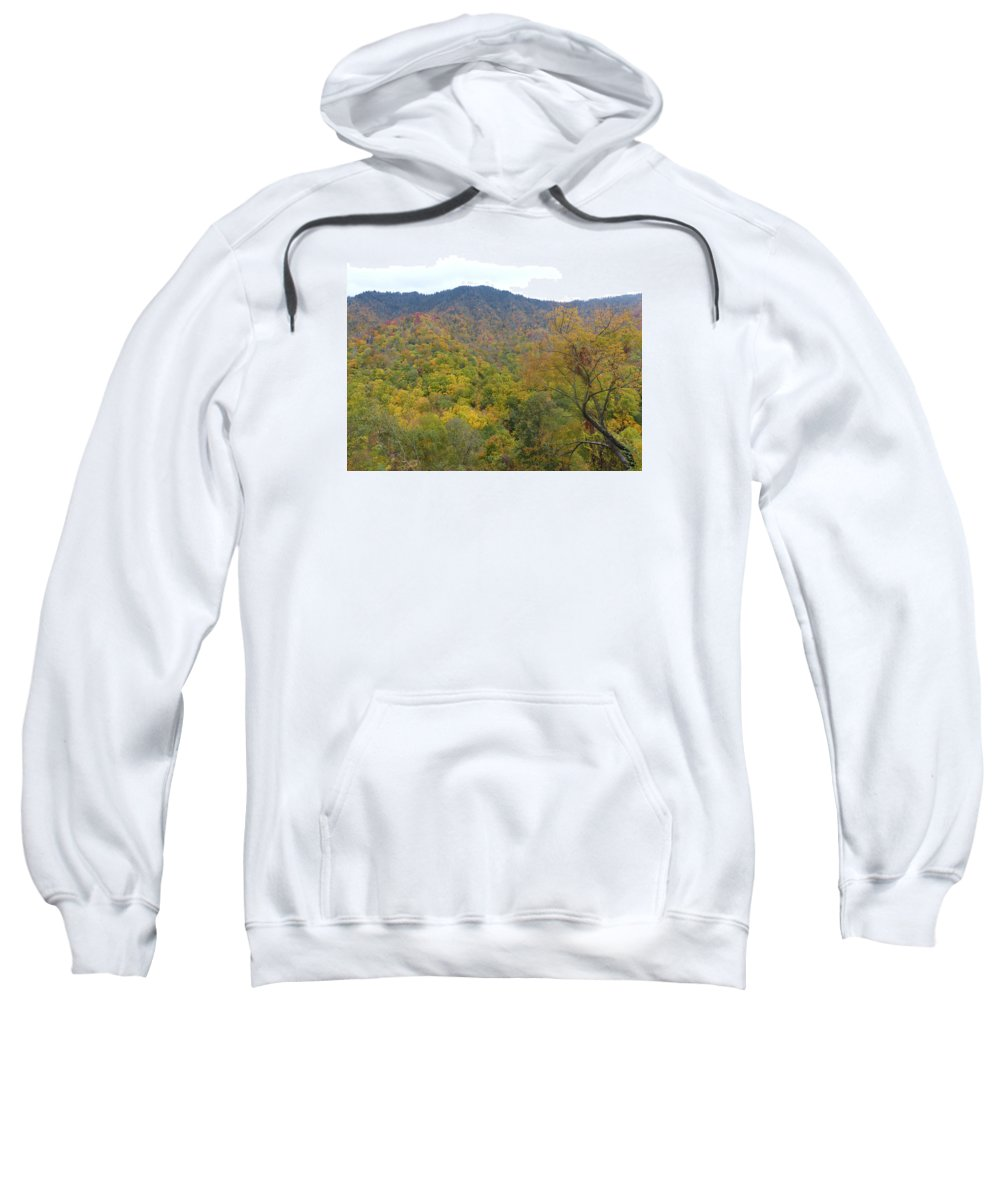 Nature Sweatshirt featuring the photograph Smoky Mountains National Park 5 by Cindy McFadden