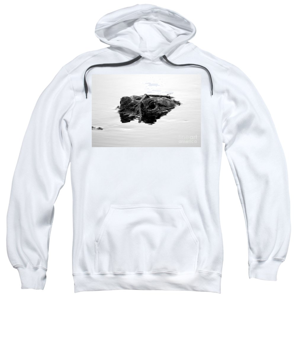 Sneaky Sweatshirt featuring the photograph Sneaky by David Lee Thompson