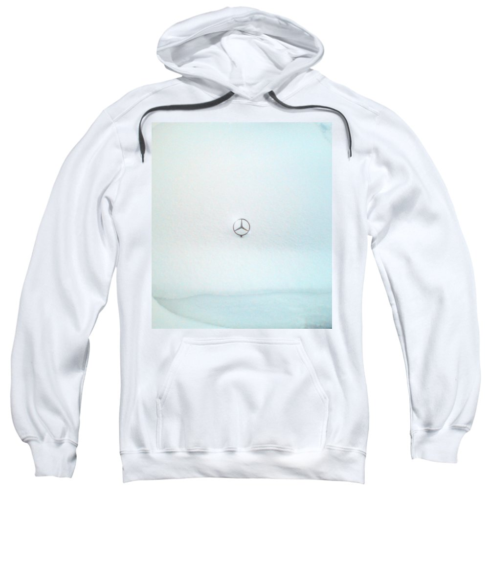 Snow Sweatshirt featuring the photograph Snow Star by Are Lund