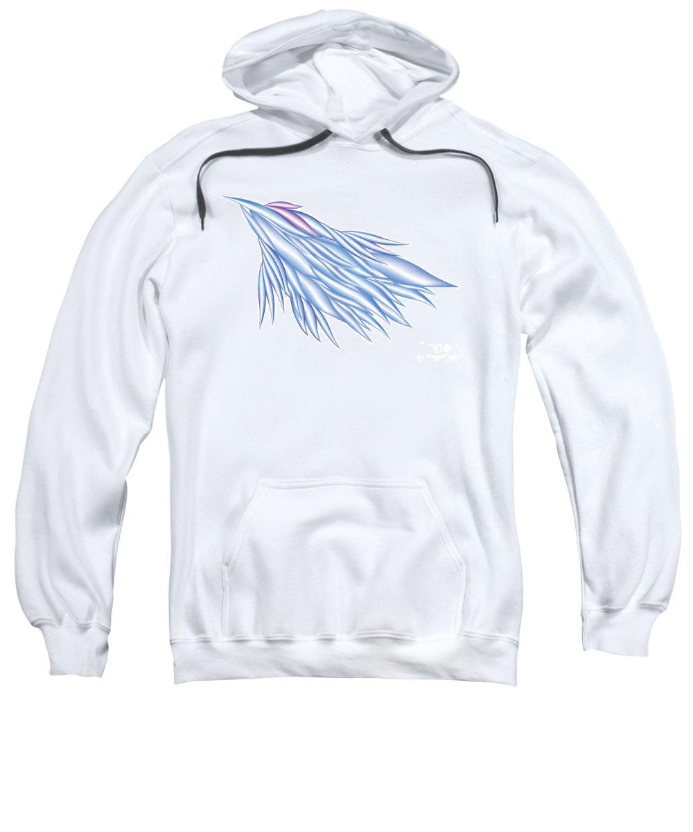 Jamie Lynn Gabrich Sweatshirt featuring the digital art Soaring by Jamie Lynn